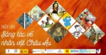 european literature characters through vietnamese students paintings