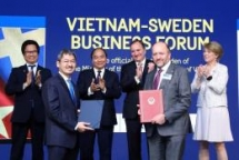 swedish pm thanks vietnam for vietnam for medical support in covid 19 covid 19 fight