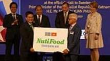 vietnamese dairy firm opens factory in sweden