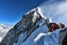 On Everest, Traffic Isn't Just Inconvenient. It Can Be Deadly.