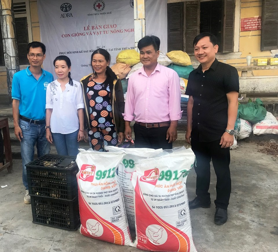 ADRA helps households overcome damages by Typhoon Damrey