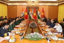 Cooperation in defence to be promoted between Vietnam and India