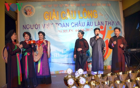 Berlin badminton tournament attracts oversea Vietnamese players