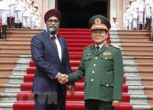 vietnam canada to intensify defence cooperation