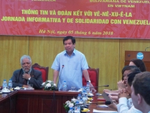 talk on venezuela situation after presidential election held in hanoi