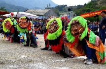 mask dance an intangible cultural heritage in lang son