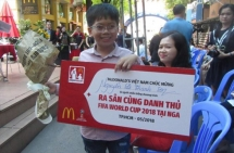 vietnamese child to attend world cup final as player escort