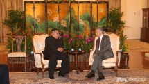 kim jong un meets pm lee ahead of trump kim summit