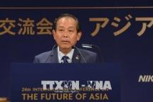 Deputy PM Truong Hoa Binh busy in Japan