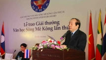 winners of mekong river literature prize honoured