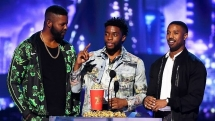 black panther stranger things win big at mtv movie tv awards 2018