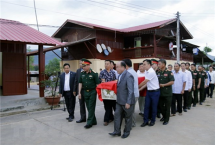 Vietnam, Laos continue to search and repatriate remains of volunteer soldiers
