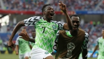 world cup musa marks return with winning double as nigeria beat iceland