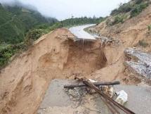 hanoi declared emergency due to landslides