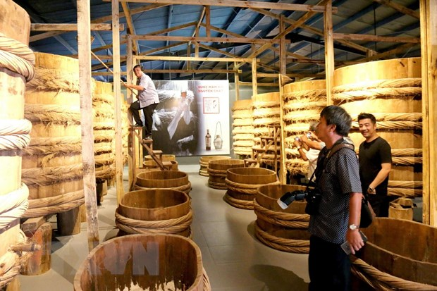 Inside first fish sauce museum in Phan Thiet city