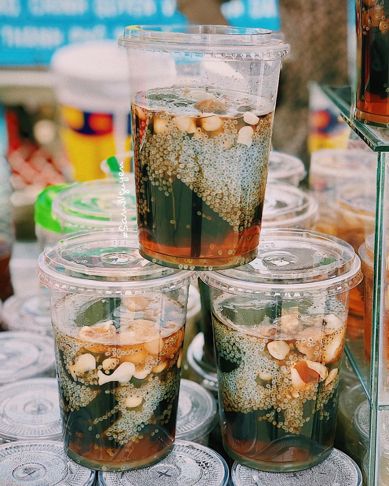 Suong sam jelly - cold treat for summer days