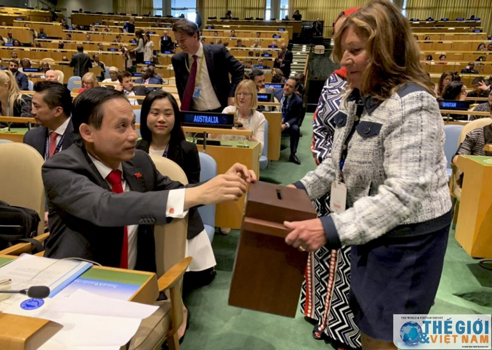 Vietnam becomes a non-permanent members of UNSC