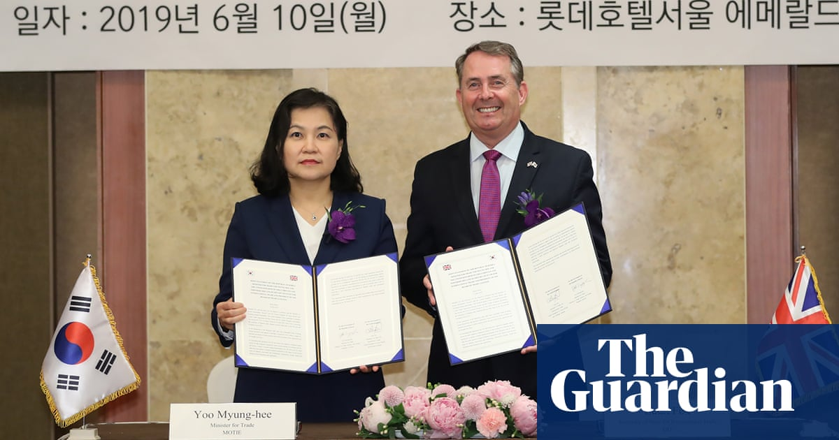 Britain signs post-Brexit trade deal with South Korea