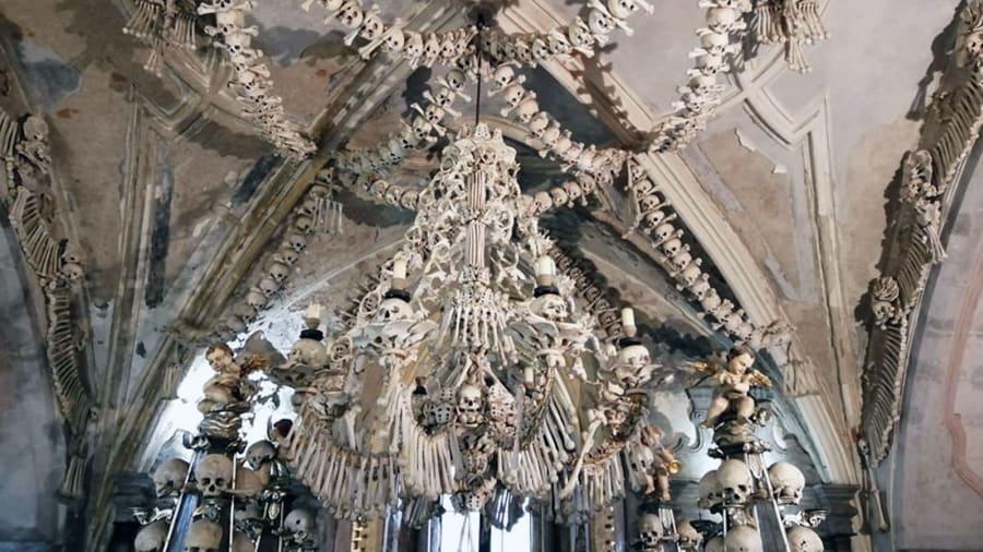 Inside the Czech 'Church of Bones'
