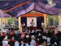 1500 children educated on natural disaster risk reduction and drowning prevention