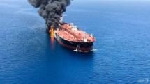 us blames iran for gulf of oman attacks iran denies allegation