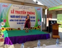 afv promotes disability incluse communities in ninh binh