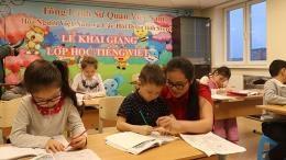 Vietnamese language class in Russia