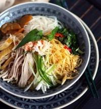 bun thang rice vermicelli soup and egg pork slices the true taste of hanoi