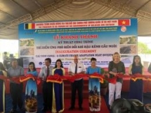 cau ngoi channel improves water resources management for agriculture production in ninh thuan