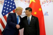 china us to restart trade talks as trump says back on track