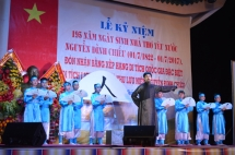 ben tre poet nguyen dinh chieus monument recognised as special relic site