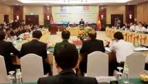 vietnam cambodia border localities share experience in religious affairs