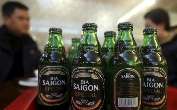 Vietnam's top brewer Sabeco posts record profit in 2016