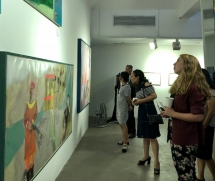 artworks of vietnamese korean artists showcased in joint exhibition
