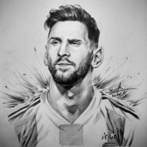 Vietnamese twenty-something draws striking portraits of World Cup stars