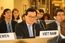 Vietnam active in discussion at UNHRC's 38th session