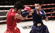 vn rok boxers compete in friendly event in dong nai