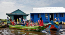 floating school for vietnamese students opens in tonle sap lake cambodia