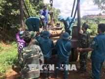 a 227kg bomb deactivated in dak nong