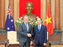 Vietnam, Australia bolster ties in key areas: President
