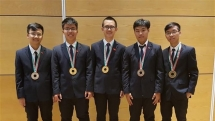 vietnamese students reap two golds of the international physics olympiad