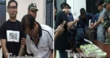 group including foreigners arrested for online scam