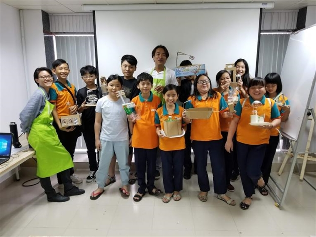 UNICEF calls Vietnamese children to create climate change heroes