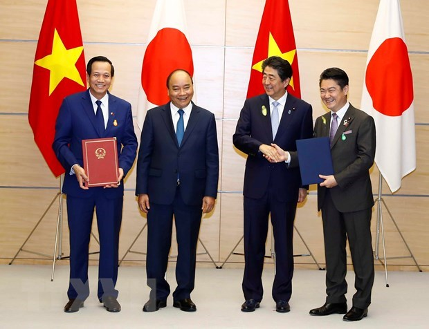Vietnam, Japan sign MoC on specific skilled workers
