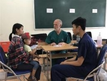 Cao Bang province: 1500 people to receive free health check-up this month