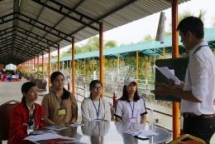room to read organises summer camp for nearly 200 girls in vinh long