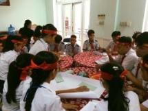 ngo prepares food for quang nams needy families