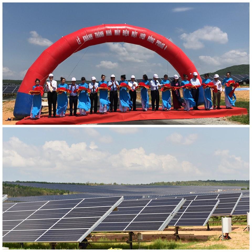 48-MW solar farm in Binh Thuan starts operation