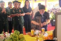 quang tri province holds requiem service for martyrs