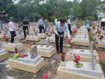 quang tri many activities prays for martyrs souls